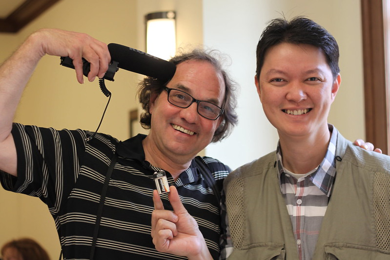 Volunteer Photographers - Mark Peterson and Shaulin Hon