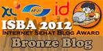 Pemenang Blog Award Internet Sehat Bronze