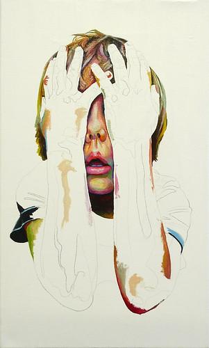 pintura sobre tela tela