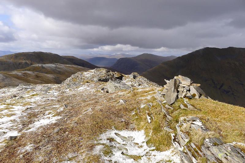 Summit of Beinn Tharsuinn
