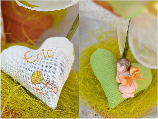 baby shower accessories ( bebe fimo si inimioara personalizata )