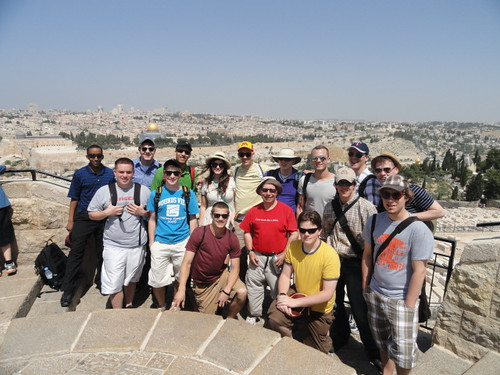 Our Group in Jerusalem