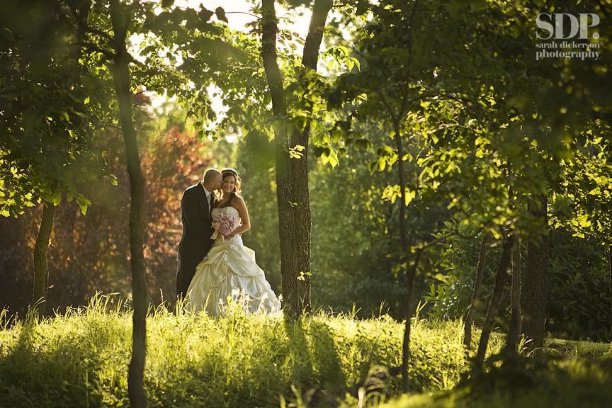 Hawthorne House Parkville Missouri wedding photo