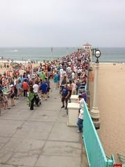 At the pier for manhattan beach centennial photo. #fb