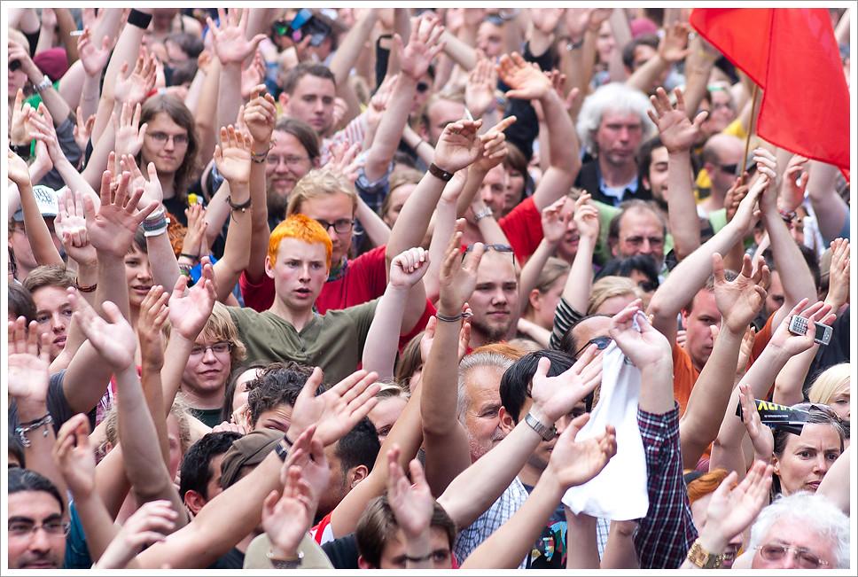 #blockupy 2012 -> 25000 Menschen