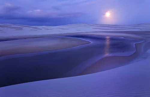 Another World.  Lencois Maranhenses by Michael Anderson