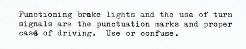 Driving Grammar