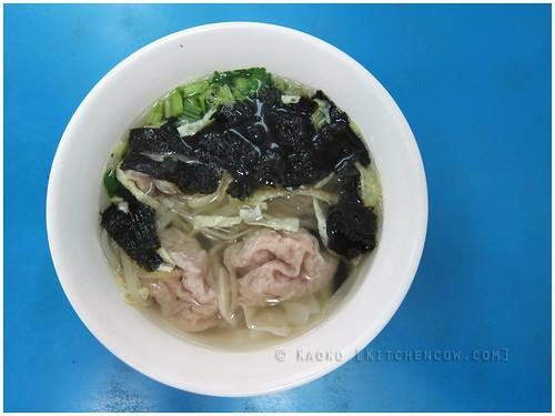 Danshui Old Street - Dumpling Soup