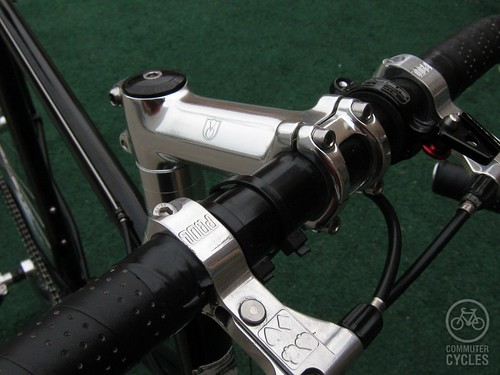 Custom Steamroller - Brake levers and stem
