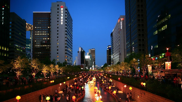 Korea-Asia-Seoul-South-Korea-Night-City-Lights-City-28486