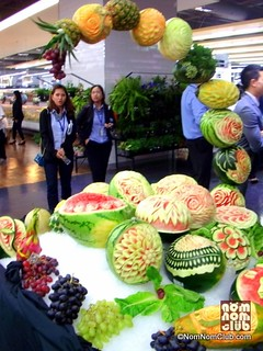 Fruit Carving Section