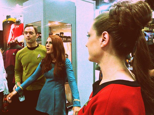 Anovos' Star Trek costumes are exceptional. They do BSG, too.
