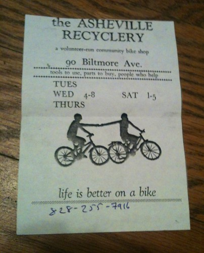AVL recyclery flyer