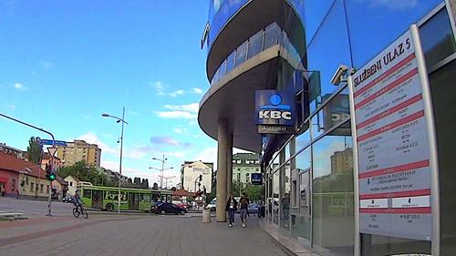 Novi Sad, sajam, master centar, sluzbeni ulaz 3 by slucajni prolaznik