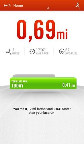 спортивный трекер для Android