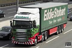 Scania R440 6x2 Tractor - PE12 FKU - Rosalyn Julia - Eddie Stobart - M1 J10 Luton - Steven Gray - IMG_9190