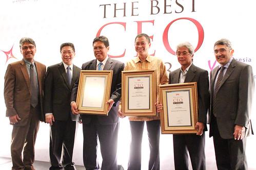 The CEO of Choice 2013: Foto para pemenang.