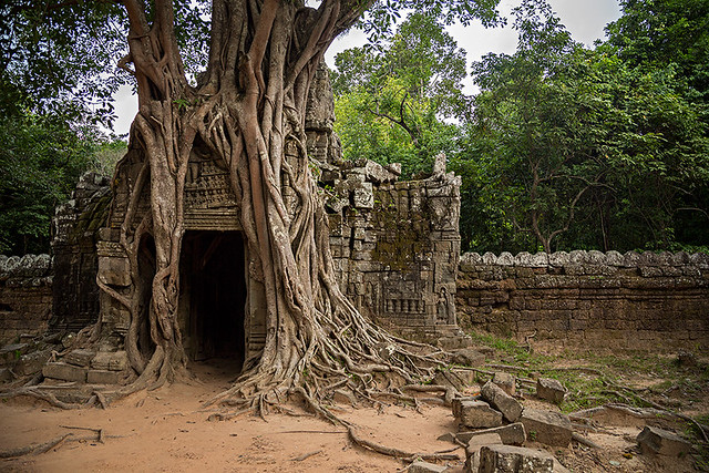Ta Som temple in Angkor Wat, Cambodia.