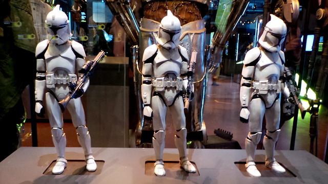 Miniature stormtroopers