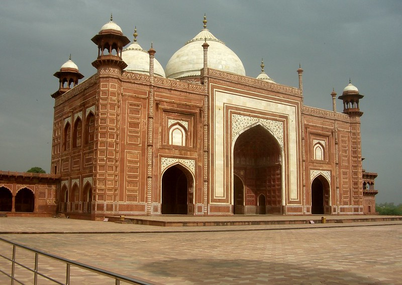 Entrance Gate to Taj mahal