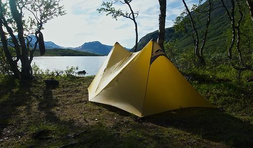 Campsite beside Tarraure