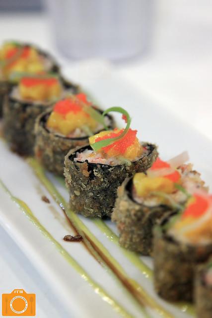 New KXP Seafood Salad Maki