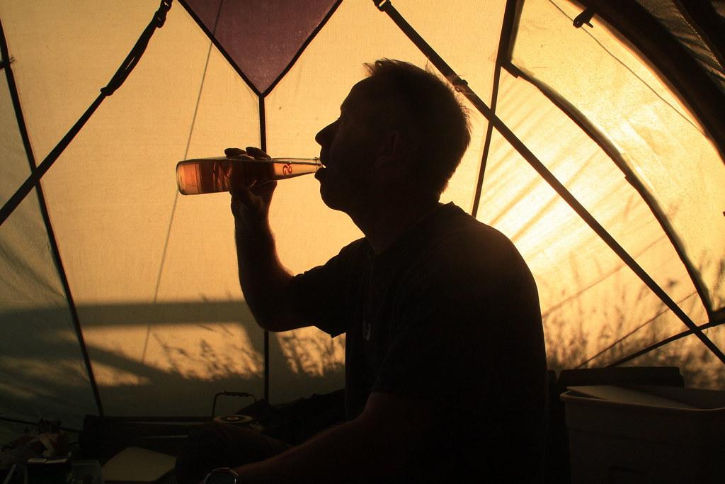 Camping at Durness