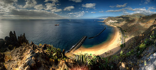 Teresitas Beach Panorama