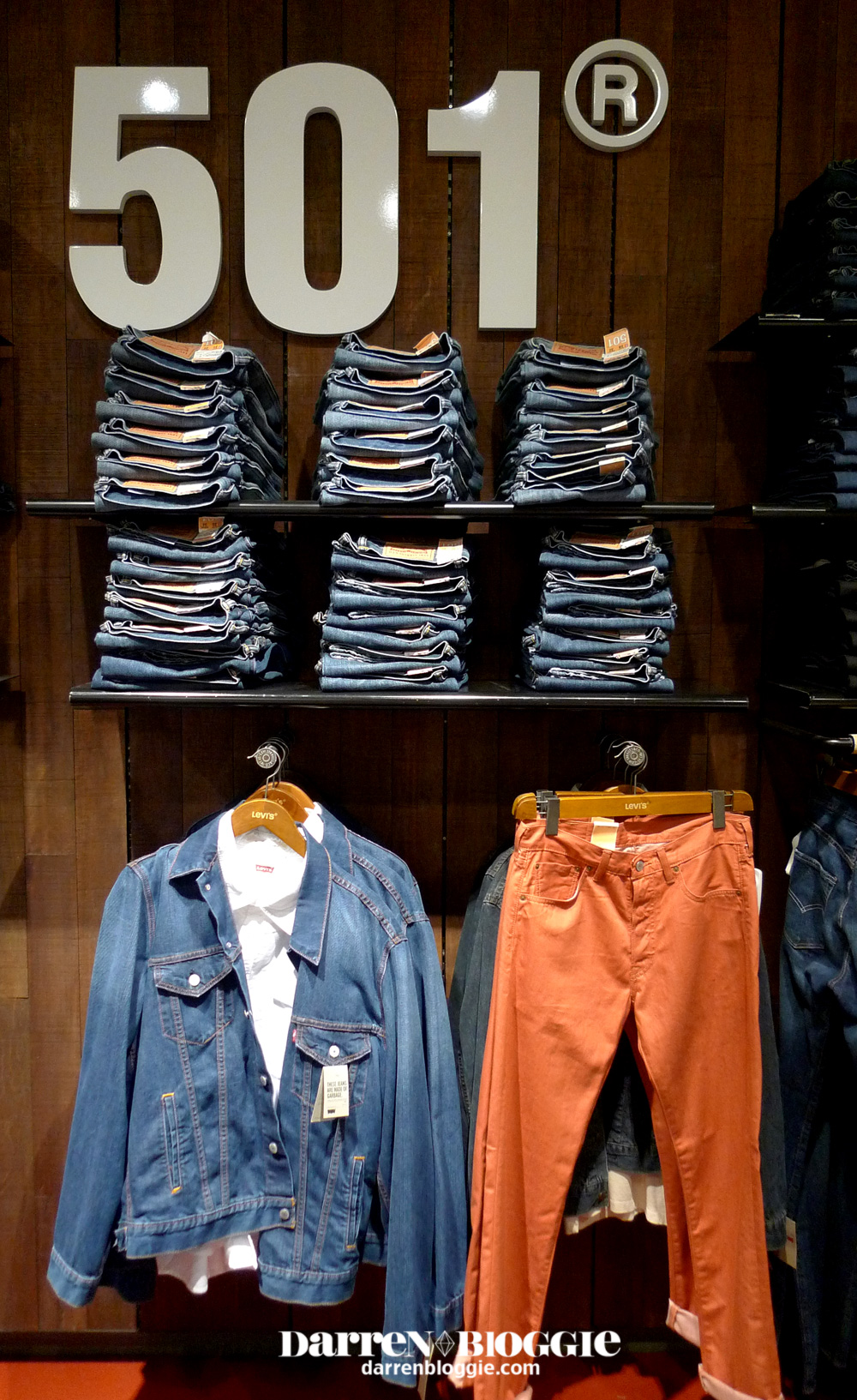 Behind the Scenes of LEVIS 501 Interpretation blog