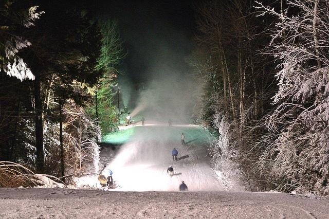West Mt. nite skiing