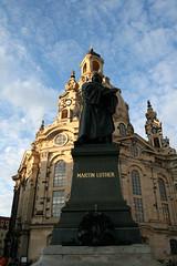 Luther-Denkmal vor der Frauenkirche