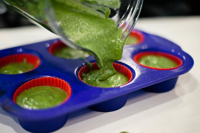 spinach muffin (gluten-free, healthy)