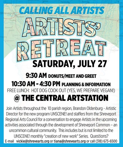 SRAC artist retreat July 27 by trudeau