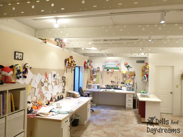 Sewing Room Make Over DIY Dolls And Daydreams 1A