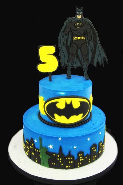 Two tier superhero cake flickr photo sharing