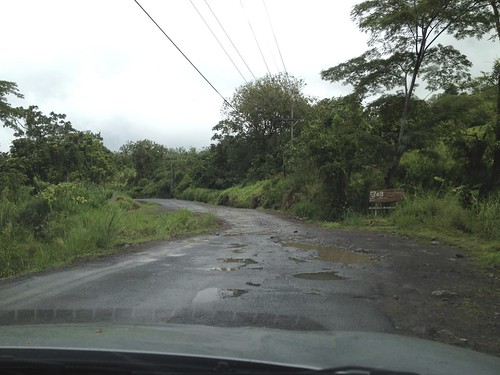 No, this is NOT a bad road at all