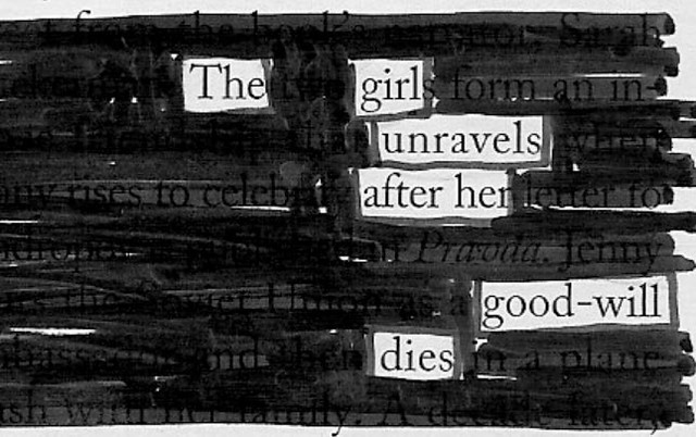 The girl unravels
