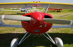 airplane(0.0), stinson reliant(0.0), piper pa-18(0.0), cessna 150(0.0), flight(0.0), model aircraft(1.0), monoplane(1.0), aviation(1.0), propeller driven aircraft(1.0), wing(1.0), vehicle(1.0), radio-controlled aircraft(1.0), propeller(1.0), ultralight aviation(1.0), aircraft engine(1.0),