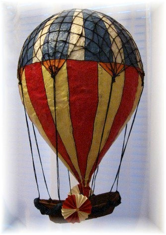 Paper Maché Hot Air Balloon