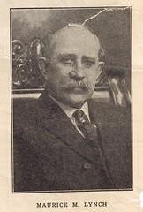 Maurice M. Lynch, 1914