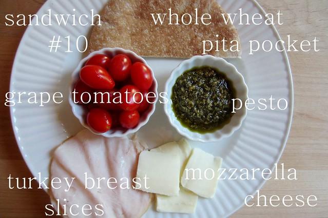 sandwich #10: tomato & mozzarella