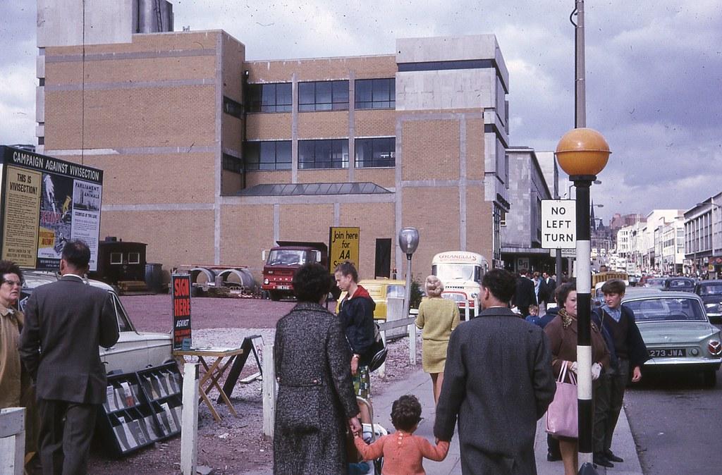 The Moor, Sheffield, September 1967.