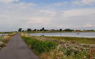 Vy från Utlängan mot Stenshamn, Karlskrona skärgård, Blekinge