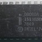 01 Intel D8080A 2Mhz 1974
