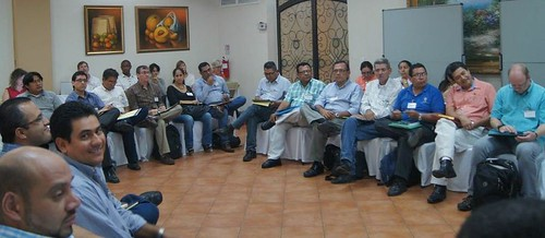 Stakeholders at the Livestock and Fish Nicaragua impact pathways and planning workshop