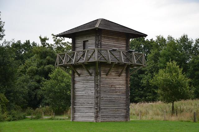 Reconstructed watchtower, Fectio (Vechten), Netherlands
