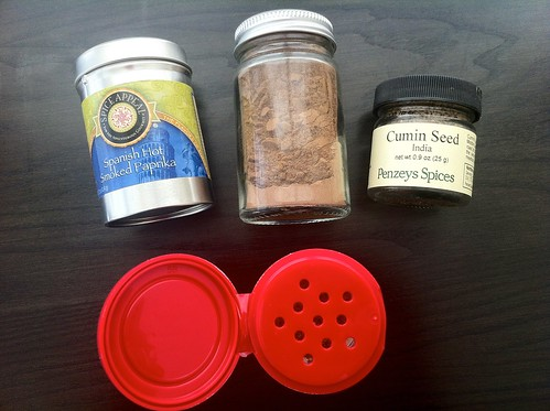 Spice Jars and Cans