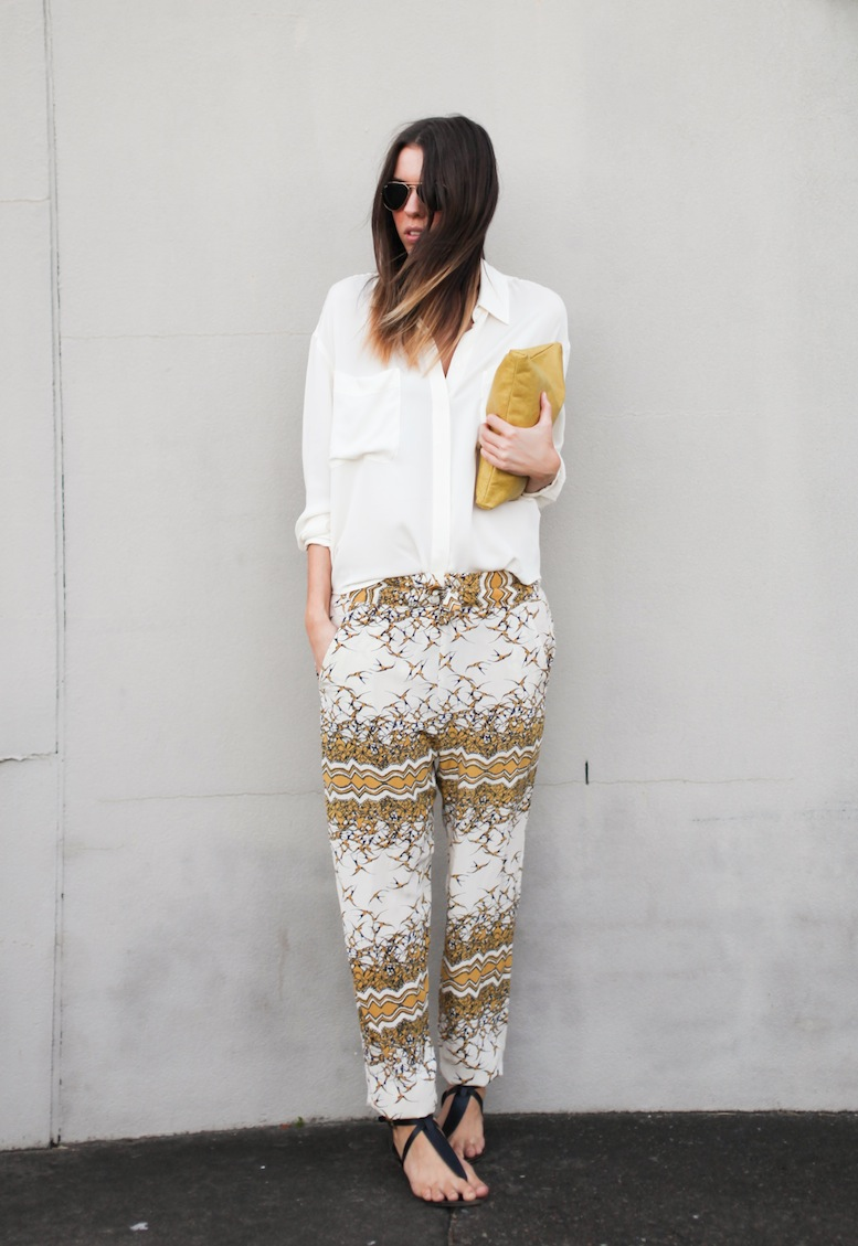 Modern Legacy fashion blog Australia Easton Pearson silk pants (1 of 5)