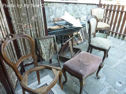 sedie shabby chic handmade