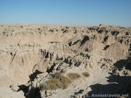 View from The Window, Badlands National Park, South Dakota